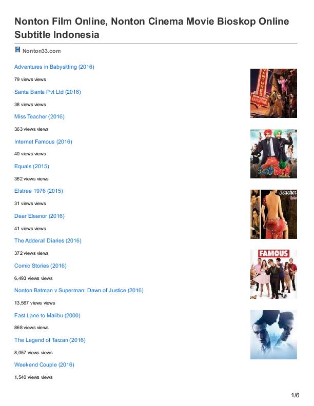 (PDF) Nonton Film Online Nonton Cinema Movie Bioskop ...