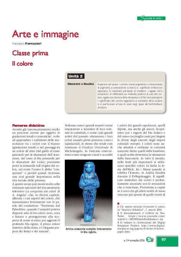 2054a75a800b PDF) Percorsi di Arte e Immagine  Il colore