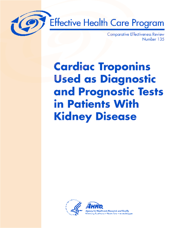 PDF) Cardiac Troponins Used as Diagnostic and Prognostic