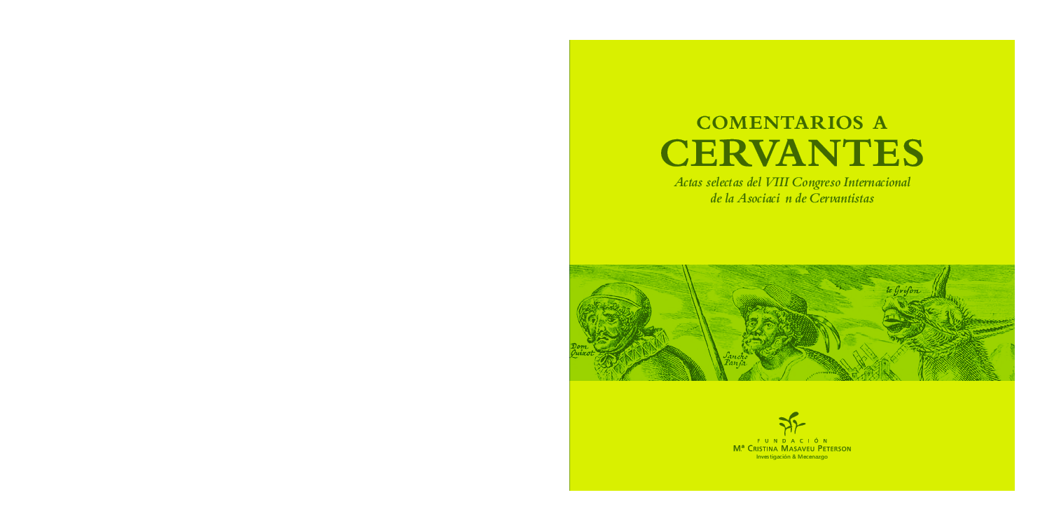 Alexa Fede Y La Cornuda Maria Se Masca La Tragedia pdf) comentarios a cervantes. actas selectas del viii