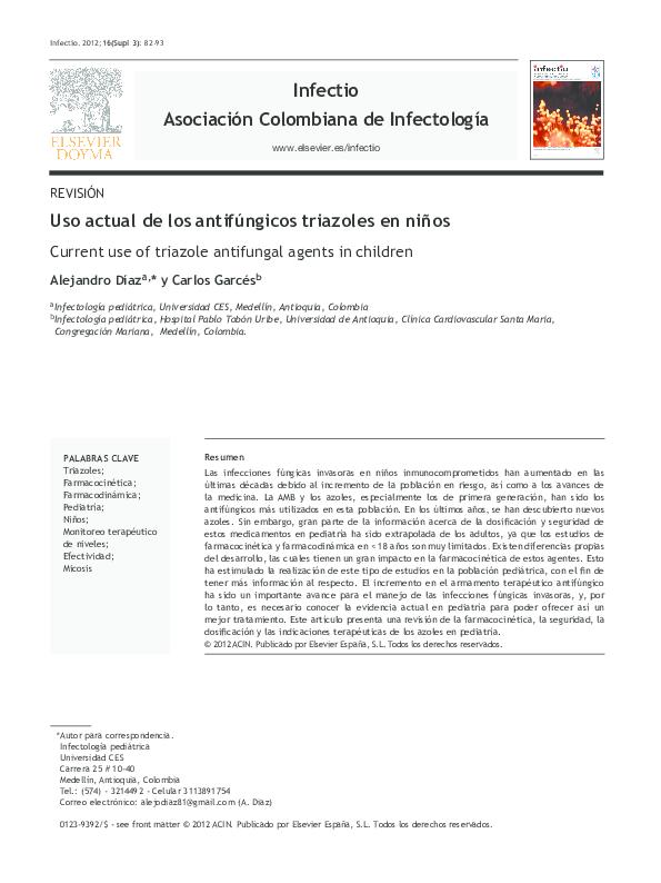 3 ejemplos de antifungicos