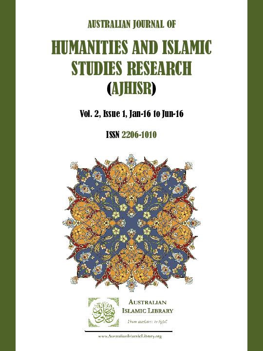 PDF) AUSTRALIAN JOURNAL OF HUMANITIES AND ISLAMIC STUDIES