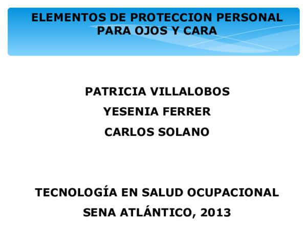c9d898fd0c PPT) Epp ojos y rostro | Carlos David Juarez Carrera - Academia.edu