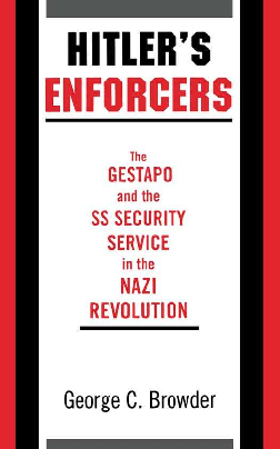 PDF) Hitler's Enforcers - The Gestapo And The SS Security