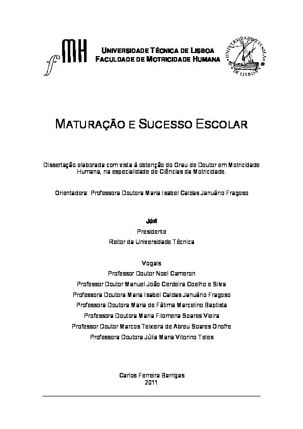b719d8f79 PDF) Maturação e sucesso escolar