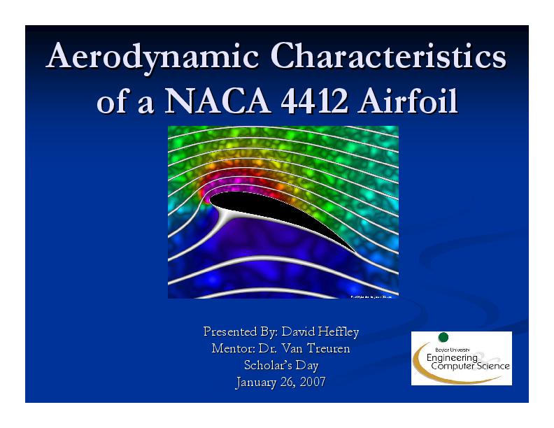 PDF) Aerodynamic Characteristics Aerodynamic Characteristics