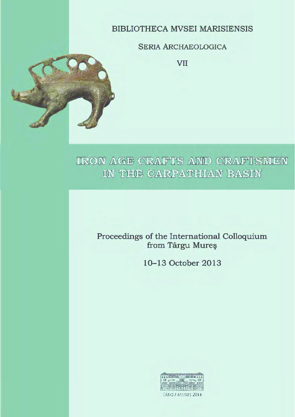 PDF) Berecki, S  (ed ), Iron Age Crafts and Craftsmen in the