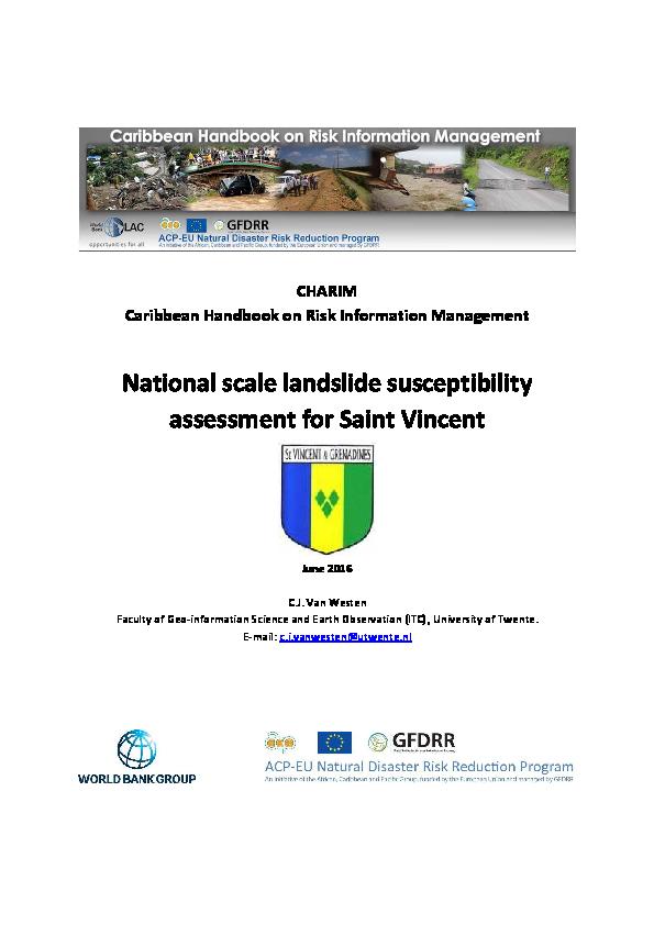 pdf) charim caribbean handbook on risk information westen them westen westen c 2_23 #8