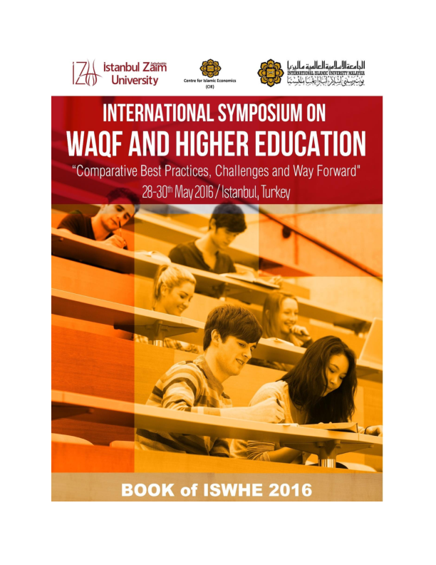 pdf waqf and higher education prof