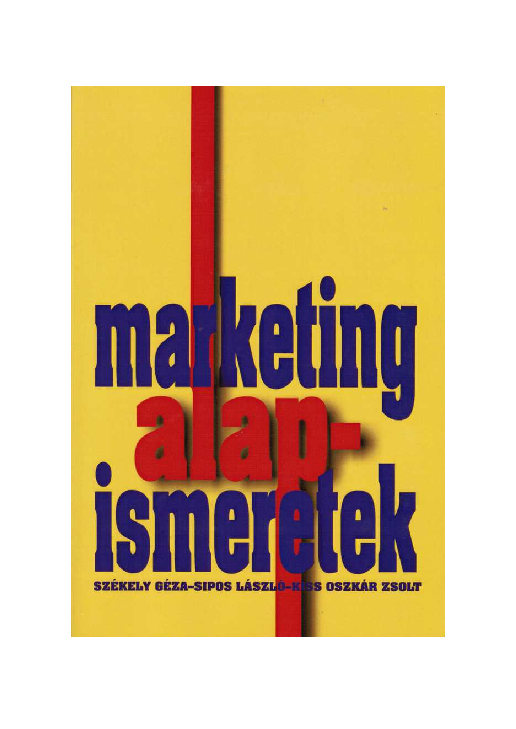 PDF) Marketing alapismeretek  c0e562e037