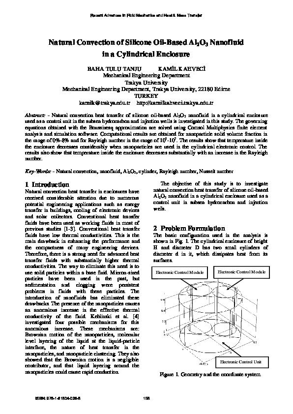 PDF) Natural Convection of Silicone Oil-Based Al2O3