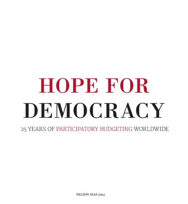 PDF) 25 YEARS OF PARTICIPATORY BUDGETING WORLDWIDE | Pablo