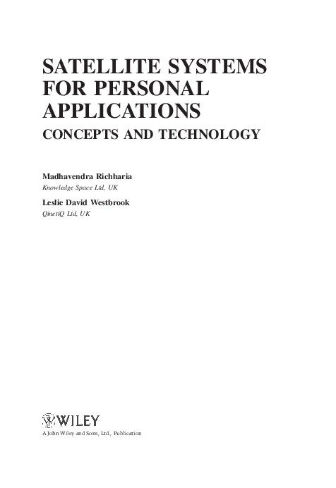 Satellite Communication Systems By Richharia Pdf