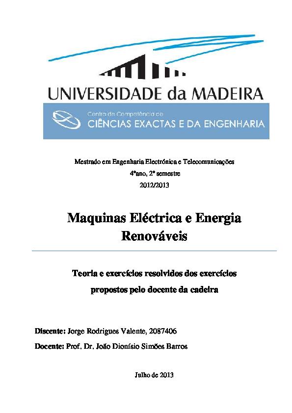31bc89be472 PDF) Maquinas Eléctrica e Energia Renováveis - Teoria e Exercícios ...