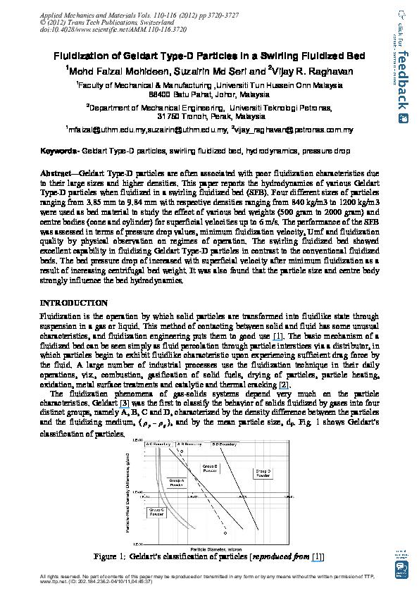 Fluidization Engineering Pdf