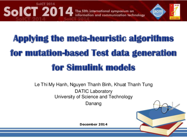 PDF) A Novel Test Data Generation Approach Based Upon