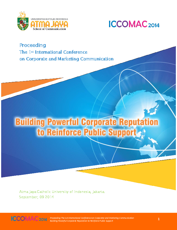PDF) Proceeding The 1st International Conference on Corporate and