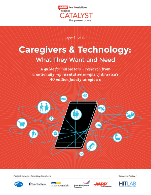 PDF) Caregivers & Technology: What They Want and Need A