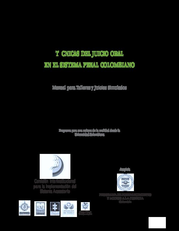 (PDF) Comisión Interinstitucional para la Implementación