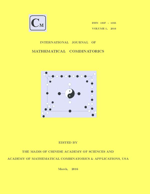 PDF) International J Mathematical Combinatorics, Vol 1,2016 pdf