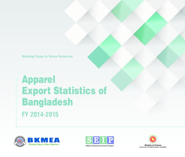 PDF) Apparel Export Statistics of Bangladesh: Fiscal Year