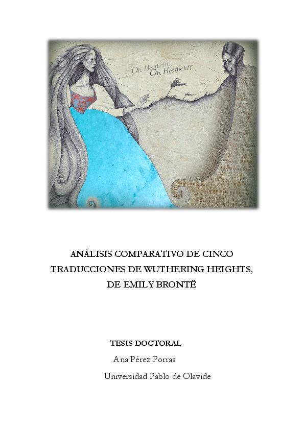 ANÁLISIS COMPARATIVO DE CINCO TRADUCCIONES DE WUTHERING HEIGHTS ... 04f10679dbf