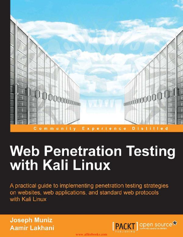 Web Penetration Testing with Kali Linux | Muhammad Amrullah