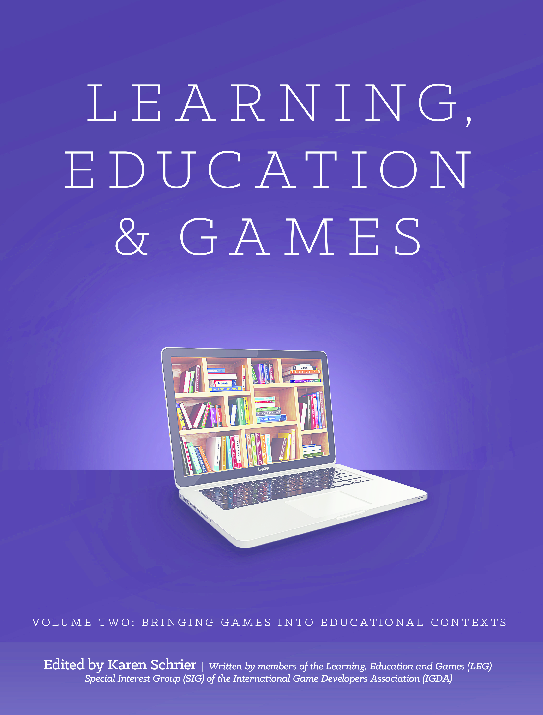 PDF) Learning_Education_and_Games _Volume_Two pdf | Paul
