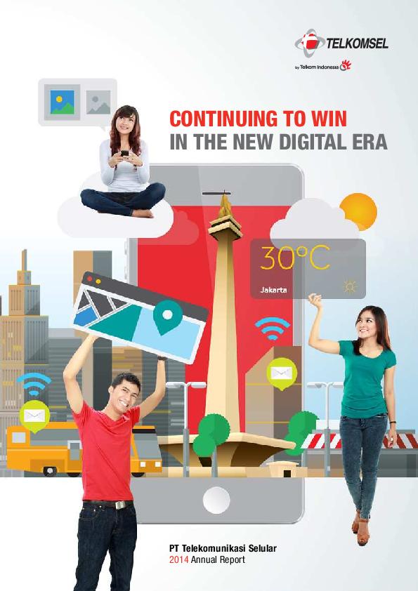 PDF) PT Telekomunikasi Selular 2014 Annual Report | Febryan