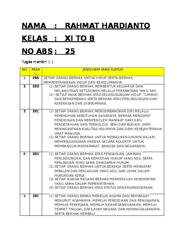 Kunci Jawaban Bahasa Indonesia Kelas 11 Hal 154 Revisi ...