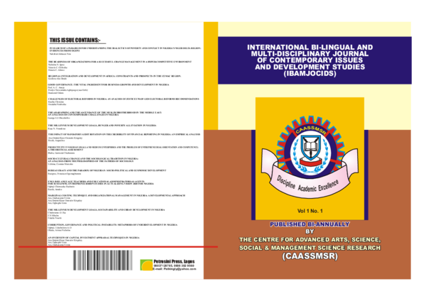 PDF) caassmsr second edition 1.pdf | ogbaji udochukwu - Academia.edu