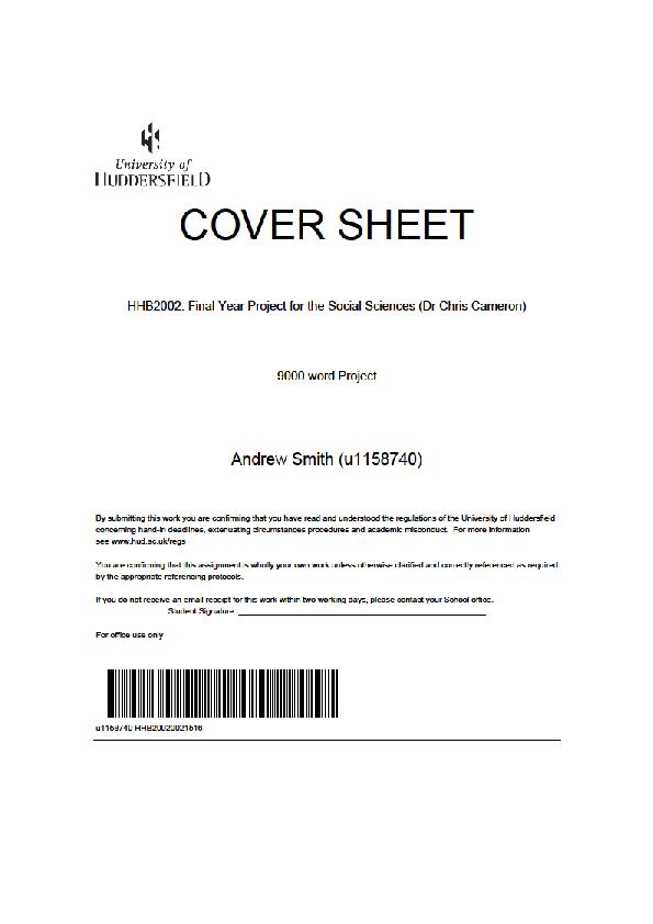 Dissertation london 2012