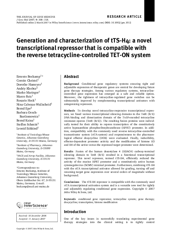 Generation and characterization of Tg(piwil1:egfp-UTRnos3