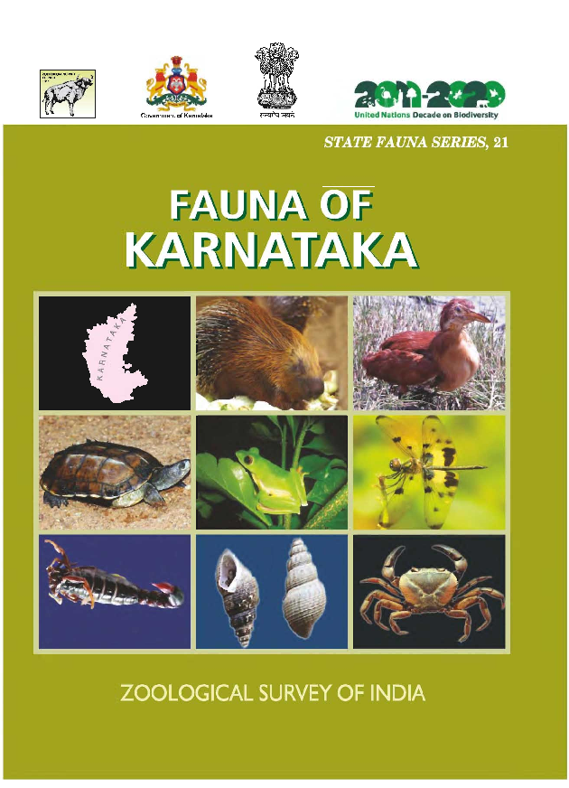 PDF) Mammalia, Fauna of Karnataka State | Shyamkant Talmale