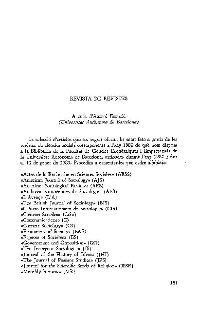 Pdf Revista De Revistes Antoni Estradé Academia Edu
