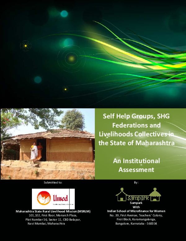 PDF) Study on SHGs, Federations and Livelihood Collectives