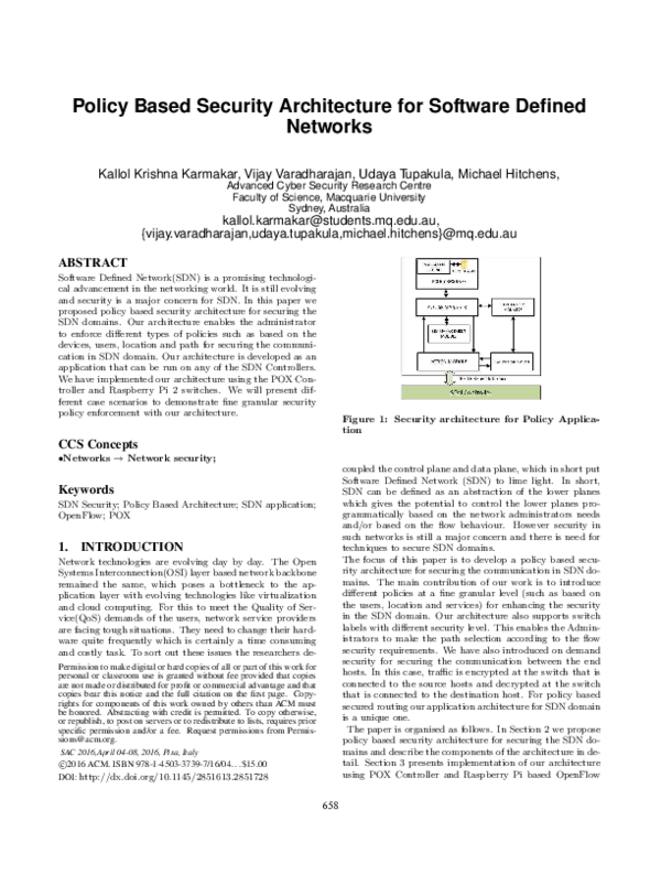 Network Security Architectures Pdf