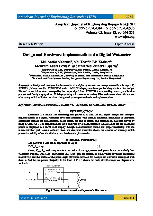PDF) Design and hardware implementation of digital channel
