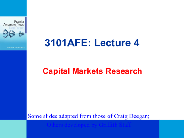 PPT) Lecture 4 (CMR) 3101AFE S | 美琪 徐 - Academia edu