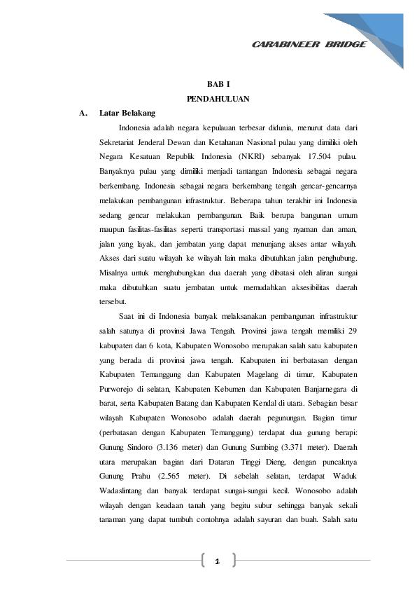 PDF) Analisis Perencanaan Struktur Jembatan Pejalan Kaki.pdf ...