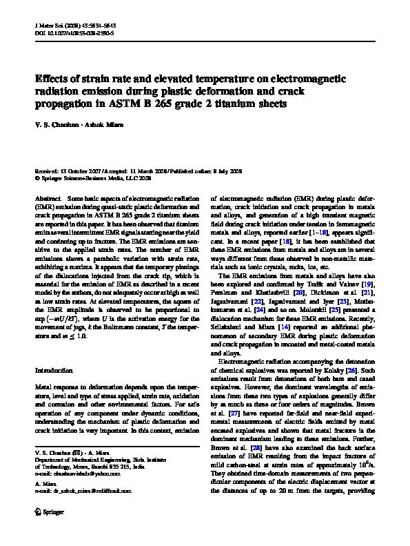 Crack initiation and propagation mechanism pdf