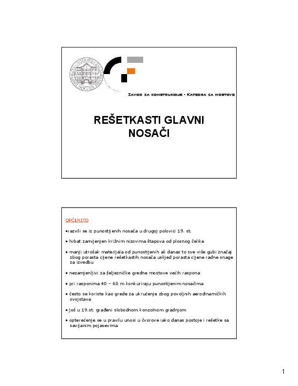Konstrukcija pdf statika uticaj pokretnog opterecenja