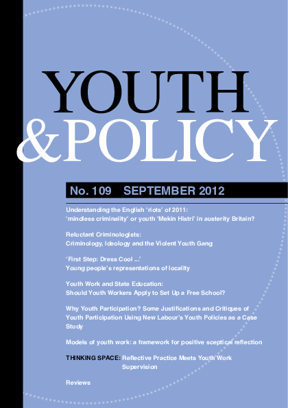 f036999349b PDF) Models of youth work  a framework for positive sceptical ...