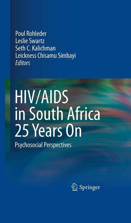 PDF) HIV and Youth: A Behavioural Perspective | Arvin Bhana