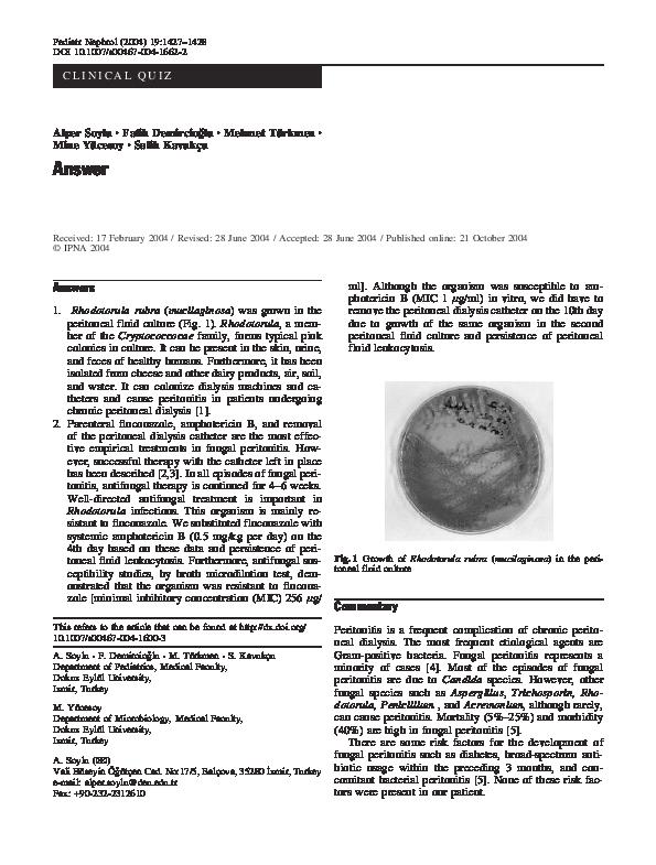 PDF) Answer | Fatih Demircioğlu - Academia edu