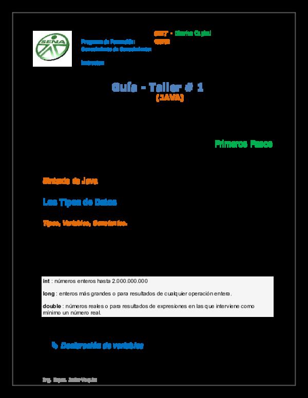Pdf Lenguaje De Programación Iv Guía De Clase Estructura