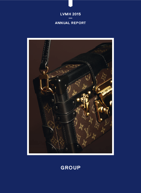 b154502634b1b PDF) GROUP LVMH 2015 — ANNUAL REPORT | Claudio Sottoriva - Academia.edu