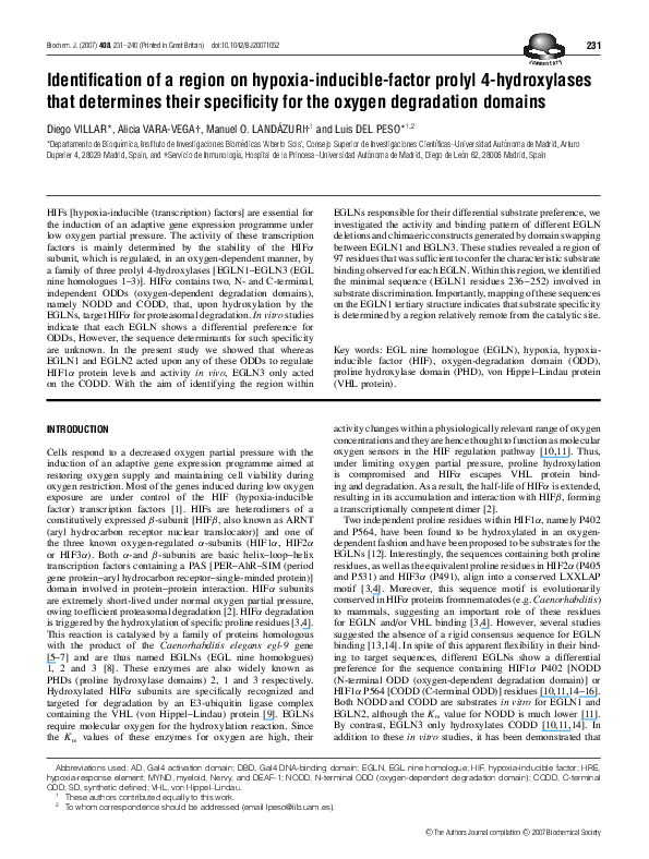 activation domains specificity