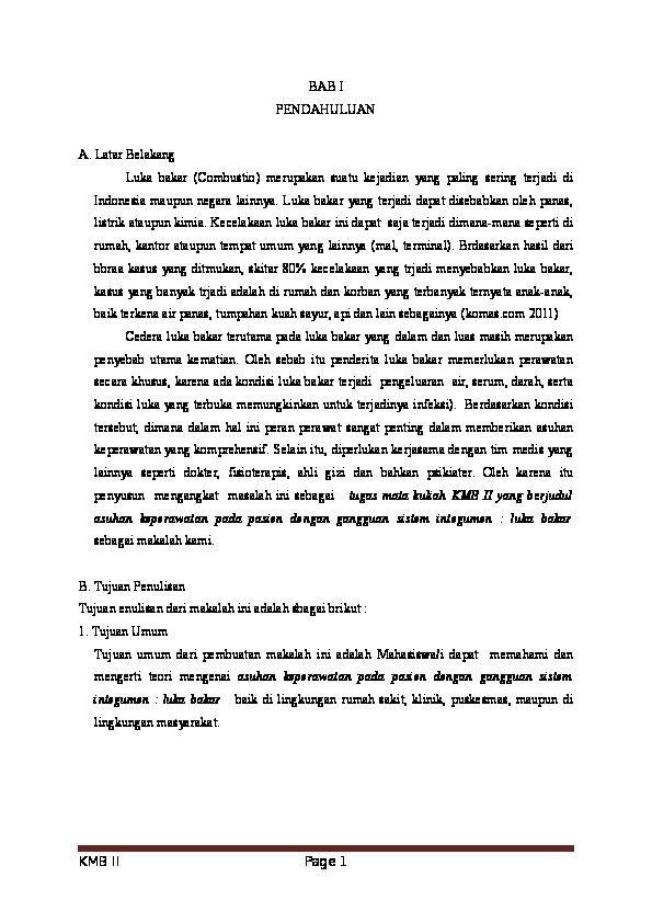 Doc Luka Bakar Wahyu Eka Academia Edu