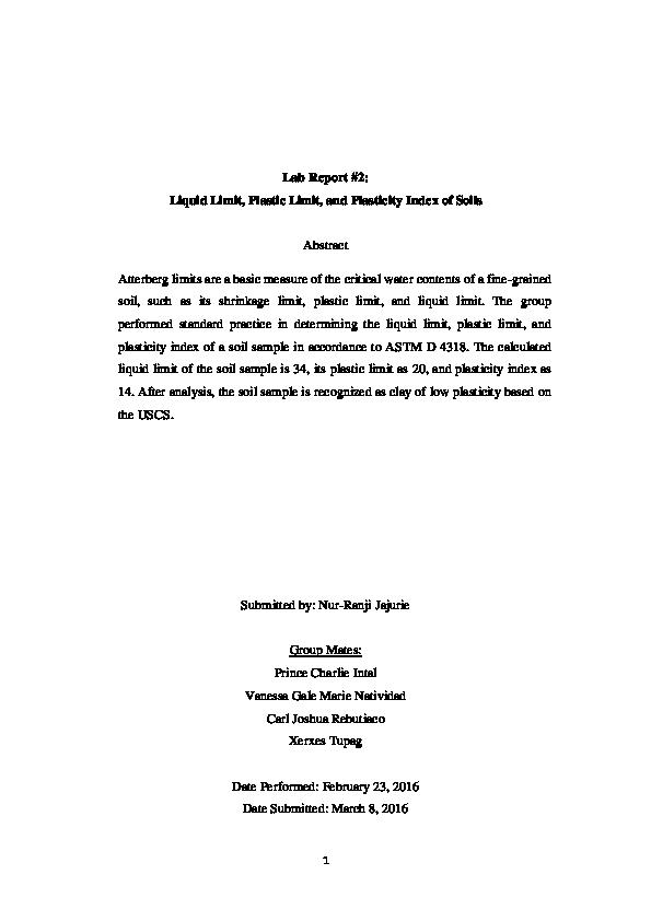 Astm D4318 Pdf